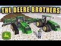 THE SNOW CAN'T STOP THESE BEAST! JD 8RT & JD 8R   FARMING SIMULATOR 2017