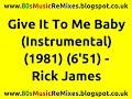Miniature de la vidéo de la chanson Give It To Me Baby (Instrumental)
