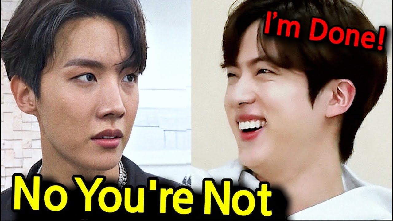 How J-Hope's Teaches Jin who says 'I'm too Old to Dance..?'