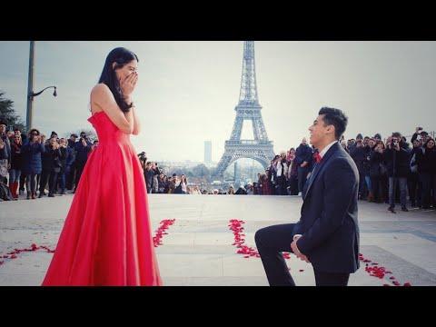 Bollywood Proposal In Paris (Warning: YOU MAY CRY!)
