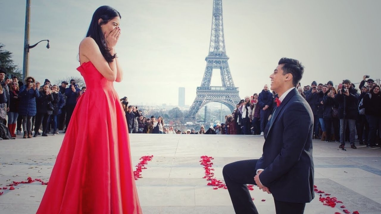 Bollywood Proposal In Paris (Warning: YOU MAY CRY!) - YouTube