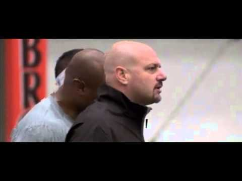 Cleveland Browns head coach Mike Pettine mic'd up at practice