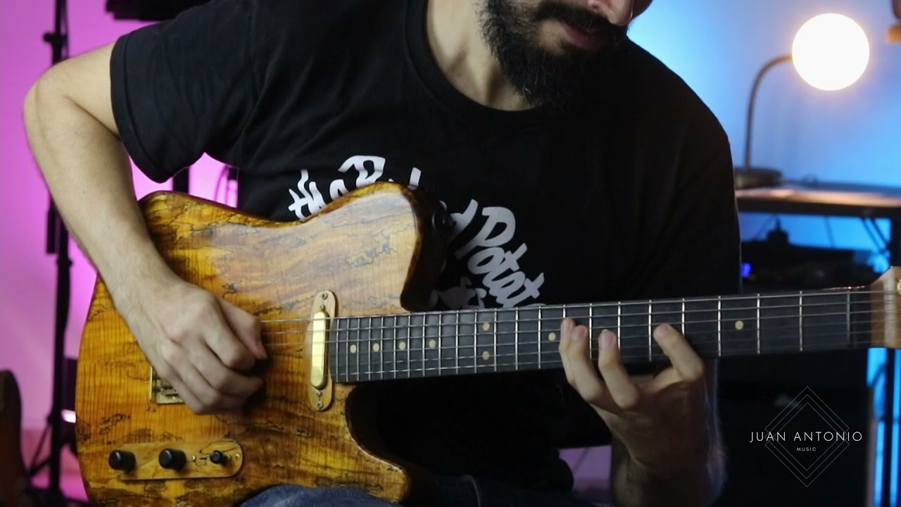 Smooth Jazz Ballad Guitar Improvisation   Stella by Starlight JAMMATES App