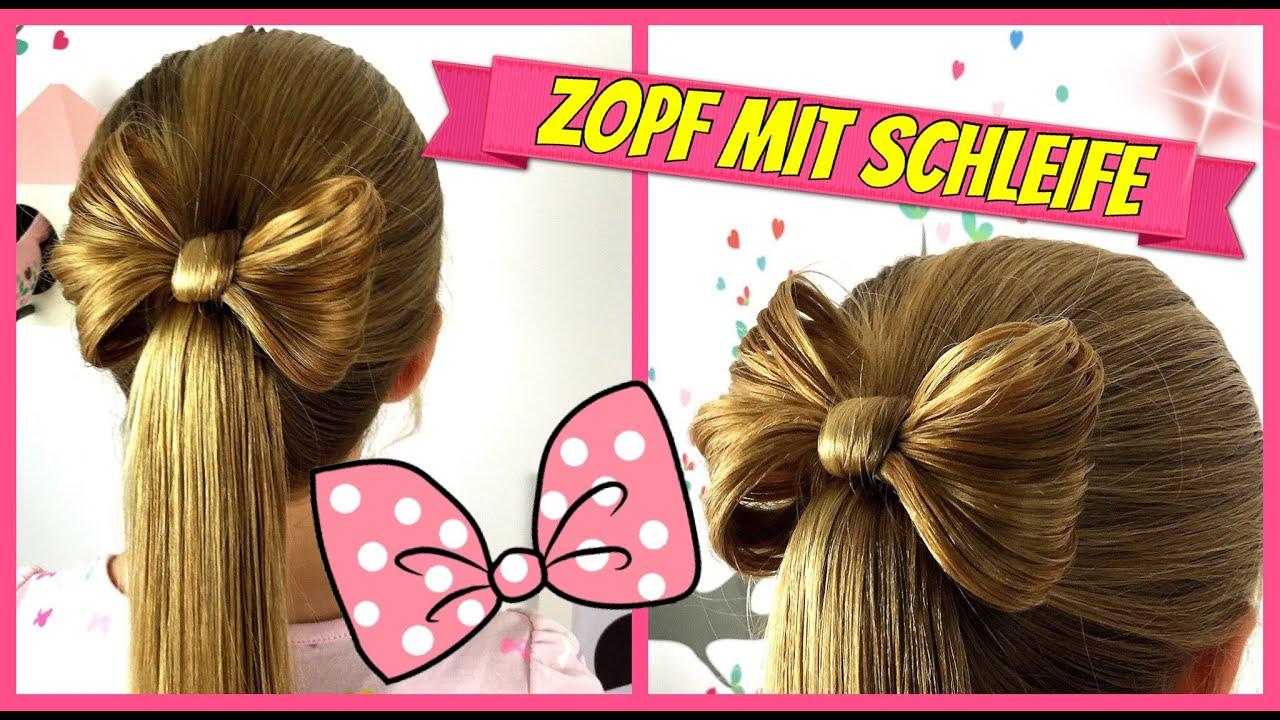 Zopf Pferdeschwanz Mit Schleife♥soo Süss♥Haarschleife♥ Frisur