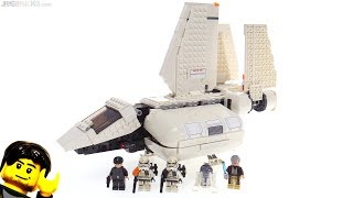 LEGO Star Wars Imperial Landing Craft review! 75221