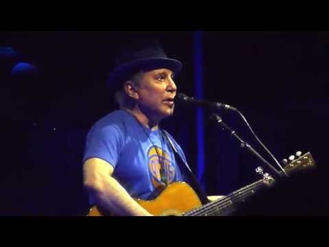 "Paul Simon ""The Boxer"" (snippet) Forest Hills NY 7/1/16"