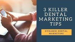 Dental Marketing Tips 2018 - Facebook Ads, Adwords, SEO