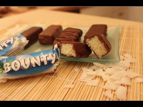 Bounty-Riegel Rezept / Bounty Bars Recipe / Nachgemacht: Original trifft Sally