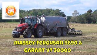 Slurry 2019 |  Massey Ferguson 8690 with Kotte VT 20000