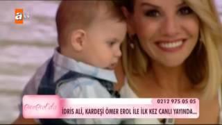 (0.02 MB) İdris Ali, kardeşi Ömer Erol ile ilk kez canlı yayında - Esra Erol'da 181. Bölüm - atv Mp3