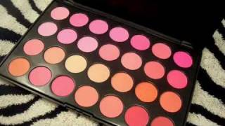 **EXCLUSIVE** 28 Color Blush Palette goldenfacescosmetics.com Thumbnail