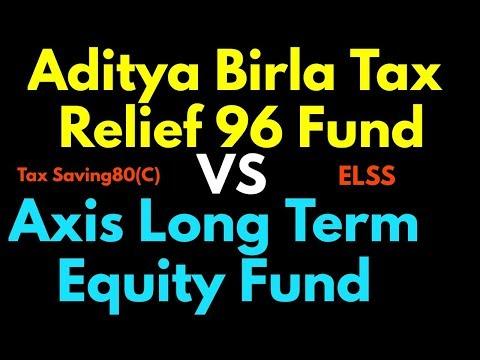 Aditya birla tax relief 96 fund Vs Axis long term equity fund