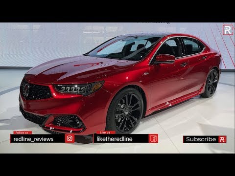 2020 Acura Tlx Pmc Edition Redline First Look 2019 Nyias Youtube