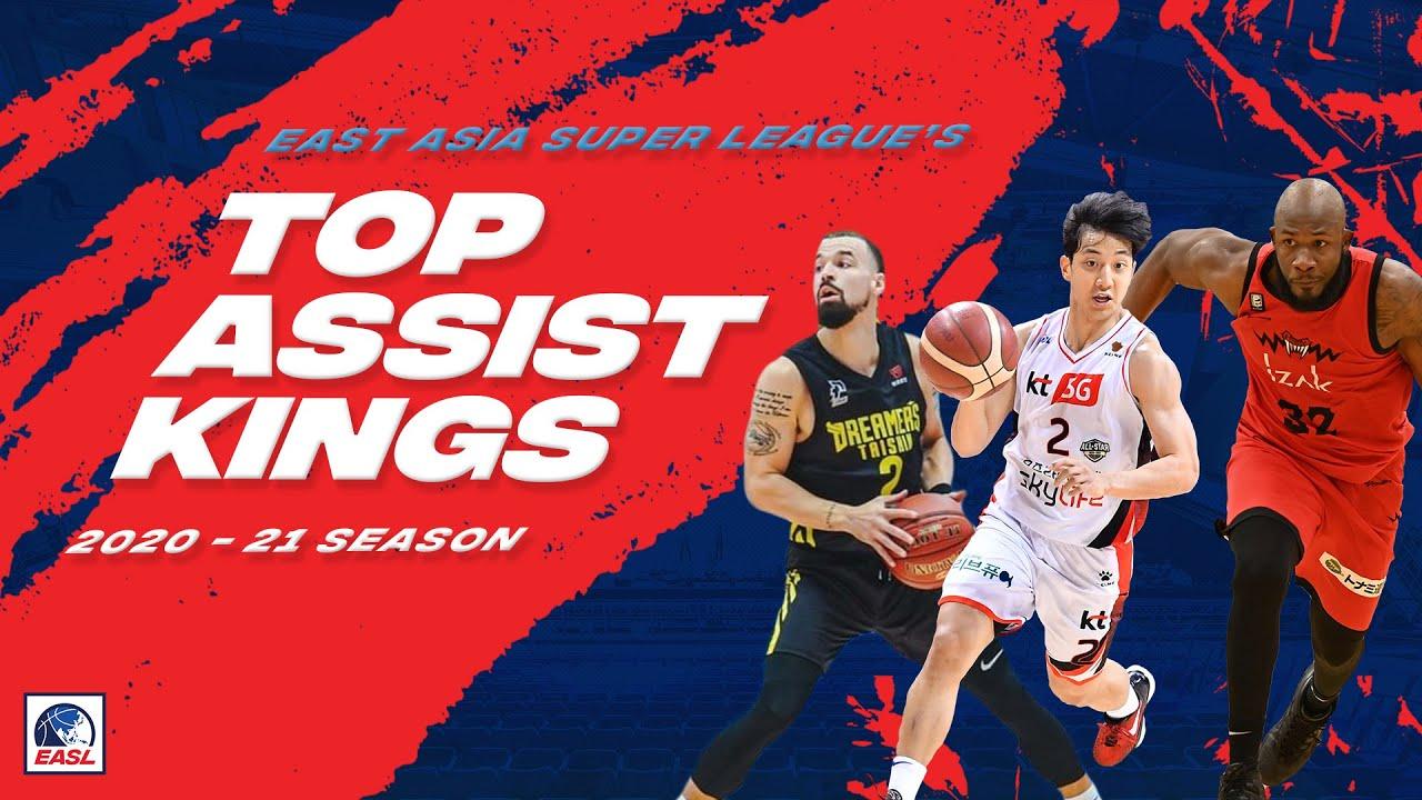 Top Assist Kings of EASL | 2020-2021 Season