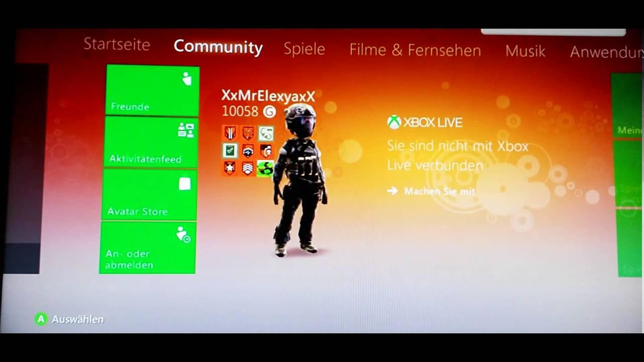 Xbox Anmelden