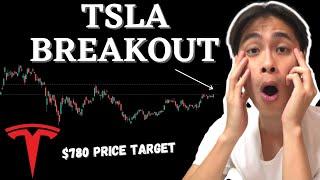 Tesla Stock to BREAKOUT! $780 Tesla Price Target! - Tsla Stock Technical Analysis