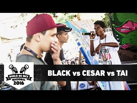 Black (BA) vs Cesar (ES) vs Tai (PE) (1ª Fase) - Duelo de MCS Nacional 2016 - 20/11/16