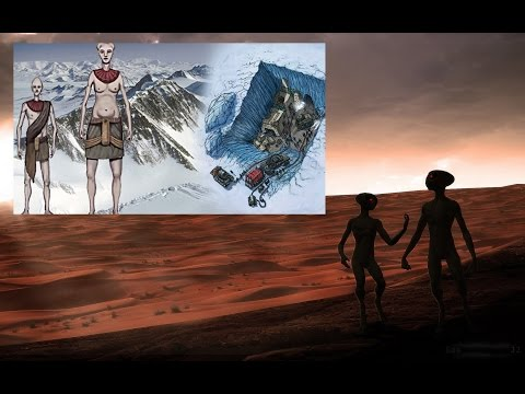 Did Martian Refugees Settle in Antarctica over a Million Years Ago?