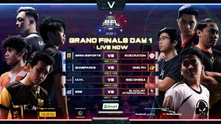 [English] MPL Philippines Season 5 Grand Finals Day 1