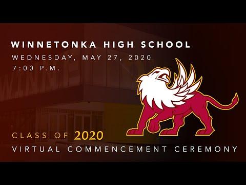 Winnetonka High School Class of 2020 Commencement Ceremony