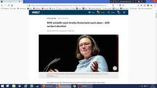 SPD rauf, AfD runter - was geht hier eigentlich ab?