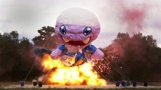 Fizzie vs Nitromethane Explosion