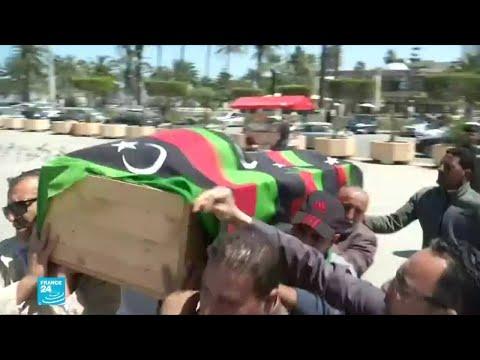 تشييع جنازة مدنيين في طرابلس تتحول لمظاهرة ضد حفتر  - نشر قبل 3 ساعة