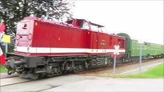 DR-Ersatzzug auf der Erzgebirgsbahn