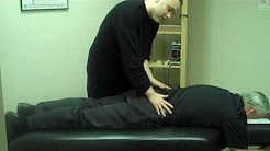 Bellevue Chiropractor - Dr. Owens handling lower back pain
