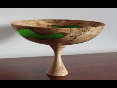 Woodturning - The Punky Worm Bowl