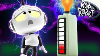 Tower Of Power | Preschool Learning Videos | Rob The Robot