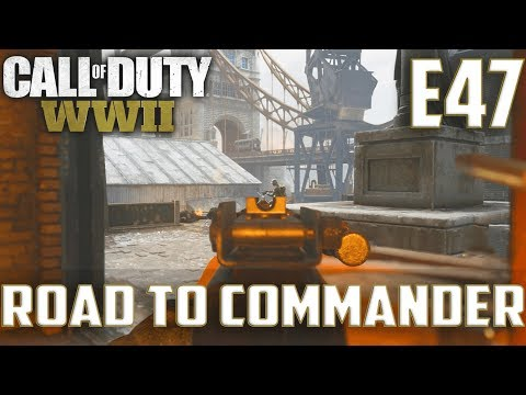 Call Of Duty World War 2(RTC)PS4 Ep.47-TDM On Gibraltar,London Docks(Type 100,Bar Gameplay)