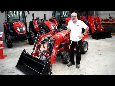 TYM T194 Sub compact tractor walk through