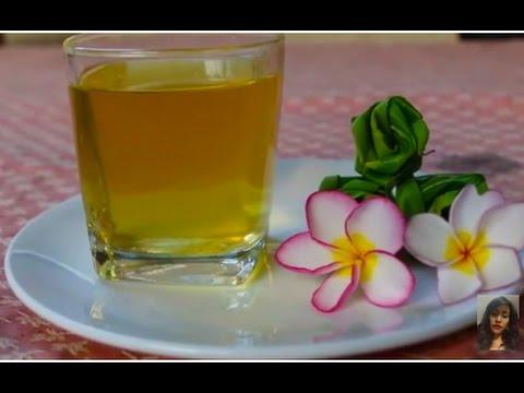 asian at home making winter melon juice healthy drink. Black Bedroom Furniture Sets. Home Design Ideas