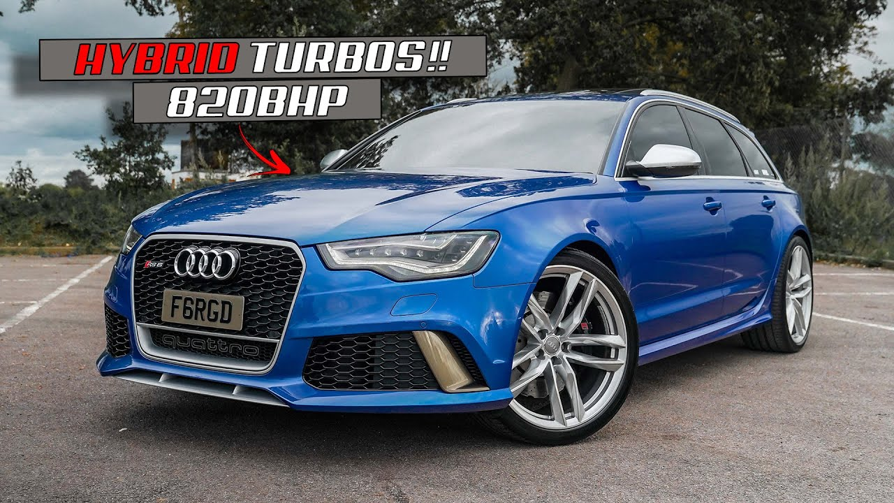 CALVIN'S 820BHP *MONSTER* AUDI RS6 RETURNS!!