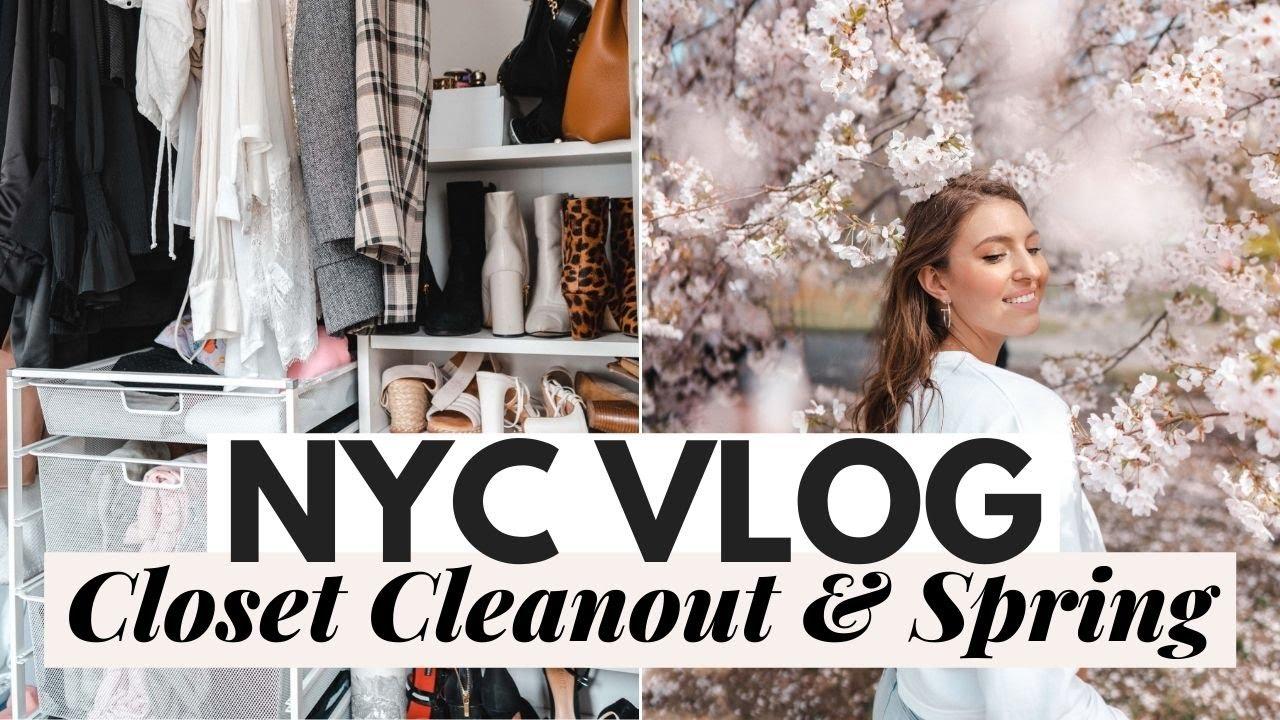HUGE Closet Clean Out: NYC VLOG Dana Berez