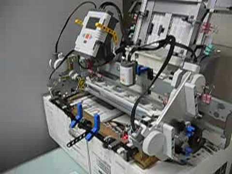 Lego NXT Paper Folding Machine