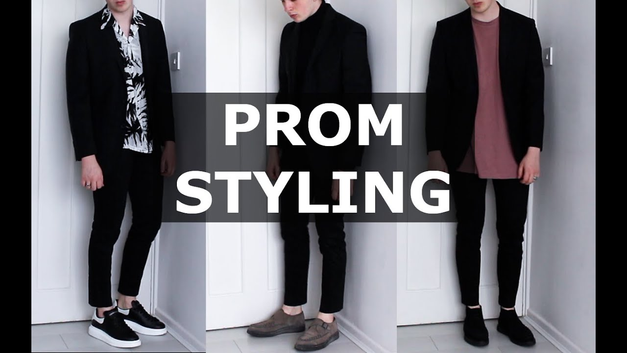 How I Would Style A Suit For Prom Mens Fashion Gallucks Ad