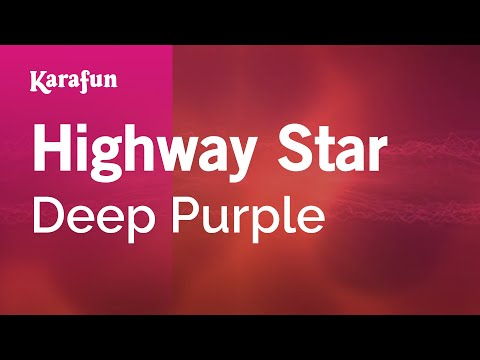 Karaoke Highway Star - Deep Purple *