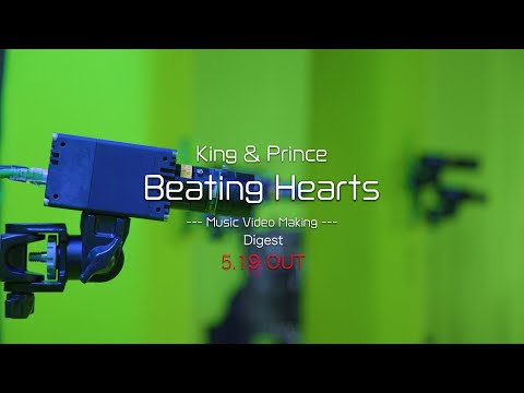 King & Prince「Beating Hearts」Music Video Making Digest