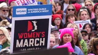 Assemblywoman Cristina Garcia Joins 2nd Annual Women's March LA