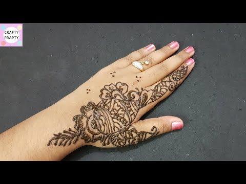 henna tattoo tutorialdiy henna tattoohow tattoo hand with hennadiy temporary - Henna Muster Fur Anfanger