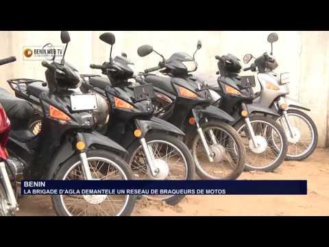 BENIN: LA BRIGADE D'AGLA DEMANTELE UN RESEAU DE BRAQUEURS DE MOTOS