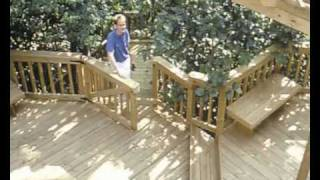 How To Build A Deck. Part 02 - Introduction. How To Lay Wooden Garden Decking With Q-deck Products.