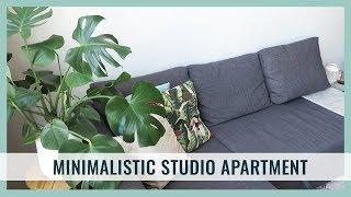 MINIMALISTIC STUDIO APARTMENT TOUR || TristArtist