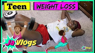 Teen Weight Loss | Family Vlogs | JaVlogs