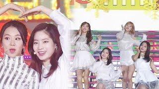 트와이스, 소녀들의 당차고 발랄한 매력 어필 'Heart Shaker' @2017 SBS 가요대전 2부 20171225
