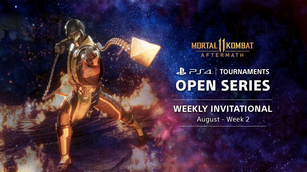 PS4 Tournaments : Open Series - Mortal Kombat 11 Weekly Invitationals NA