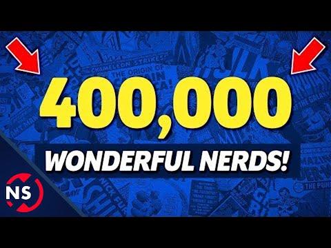 🔴 LIVE! Celebrating 400,000 Wonderful Nerds! 🤓 || NerdSync