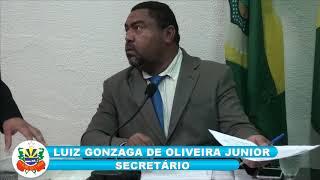 Sessão ordinária da Câmara de Vereadores de Quixeré 14 novembro 2018